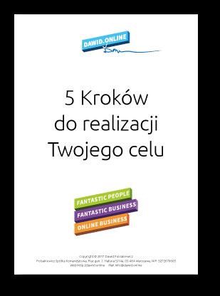 """GARTIS PDF """"5 Kroków do realizacji Twojego celu"""""""
